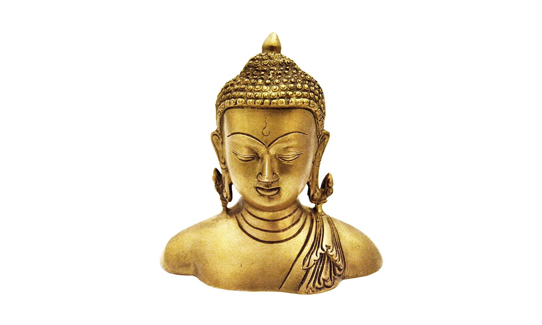 Buddha Kopf Deko.Statue Deko Buddha Kopf