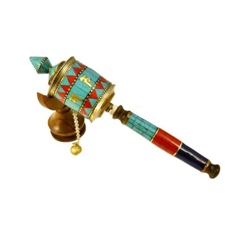 Prayer wheel Mustang