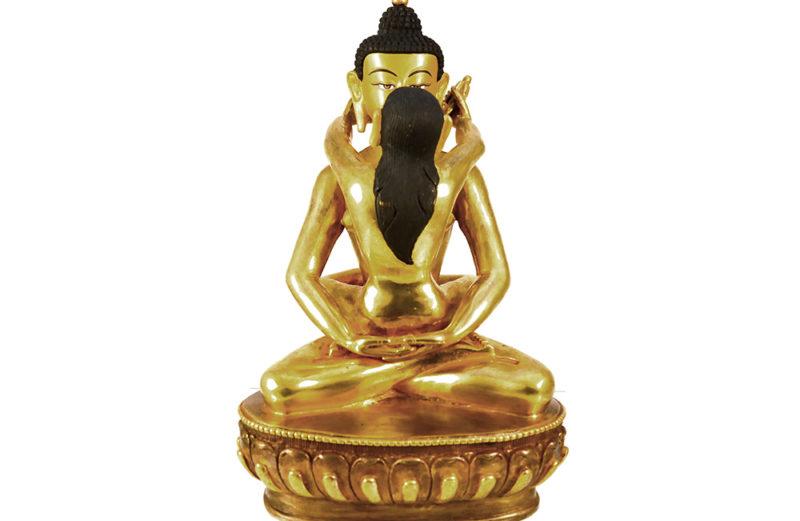 Statue Buddha Shakti Samantabhadra