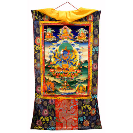 Thanka Tibet Guhyasamaya / Vajradhara Shakti