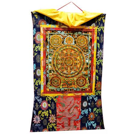 Thanka Tibet Pancha Buddha Mandala