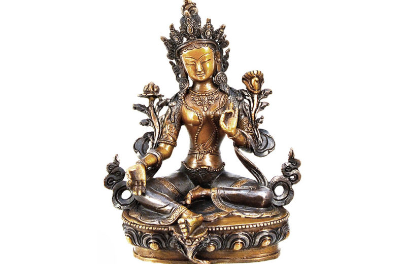 Statue Grüne Tara