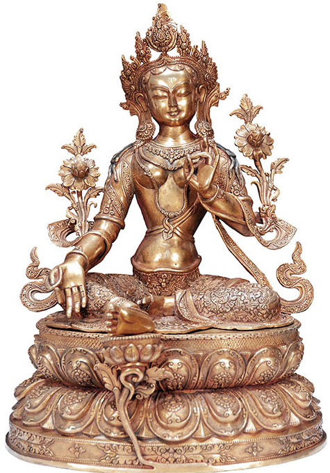 Asiatische Statuen